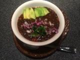 Hearty Black Lentil Soup! with abite…