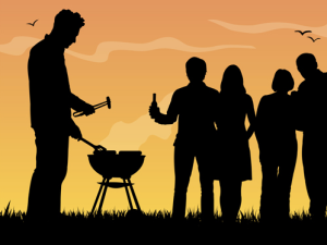 Barbecues Are For Everyone!  Photo Credit: freedesignlife.com